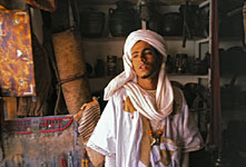 Young Moroccan Merchant